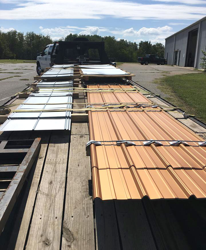 we offer many types of metal roofing